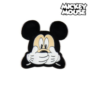 Nål Mickey Mouse Metall Svart