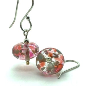 Happy Glass Earrings in Sunrise