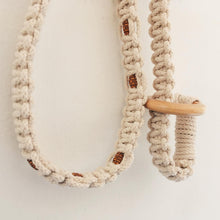 Load image into Gallery viewer, Macrame Yoga Mat Strap
