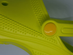 Snappy Shoe Rivets Yellow