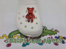 Load image into Gallery viewer, Big red glitter bear