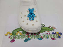 Load image into Gallery viewer, Big blue glitter bear