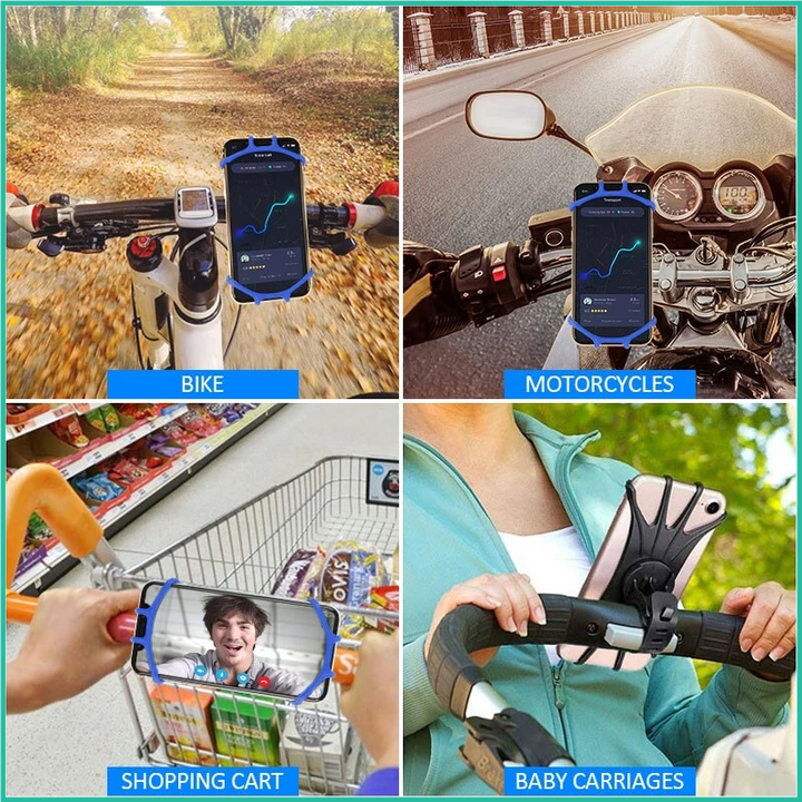360° Bike Phone Stabilizing Holder