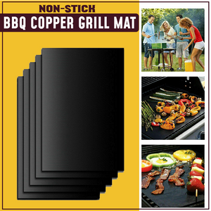 Non-stick BBQ Copper Grill Mat