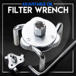 Load image into Gallery viewer, Adjustable Oil Filter Wrench