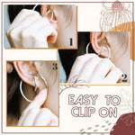 Load image into Gallery viewer, Clip-on Ear Loop Cuffs