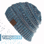 Load image into Gallery viewer, Handcrafted Ultra Warm Ponytail Winter Beanie