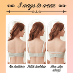 Load image into Gallery viewer, Corset-Style Wireless Push Up Bustier