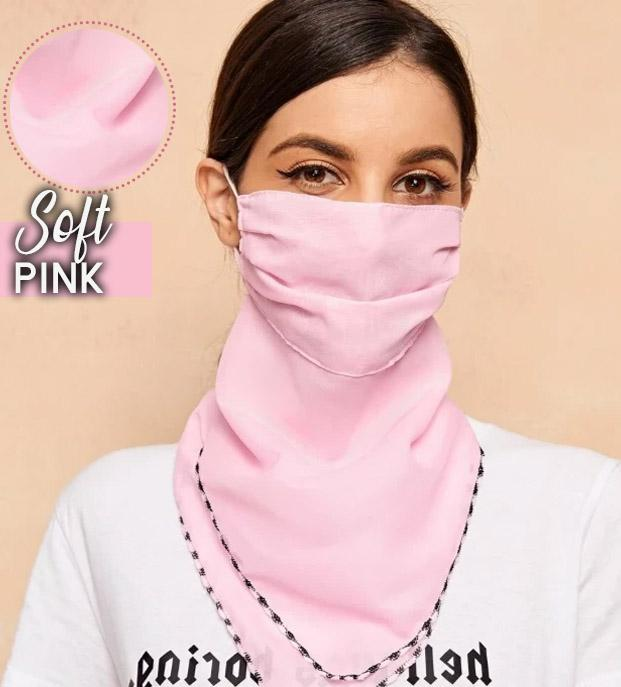 Adjustable Dust Face Scarf