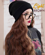 Load image into Gallery viewer, Realistic Winter Wig Beanie