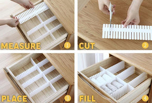 Free Combination Adjustable Drawer Organizer - Meao B