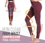 Load image into Gallery viewer, Vein Clear High Waist Compression Yoga Leggings