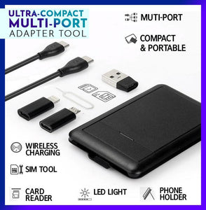 Ultra-Compact Multi-port Adapter Tool