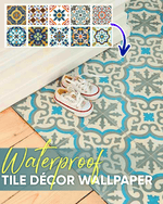 Load image into Gallery viewer, Waterproof Tile Décor Wallpaper