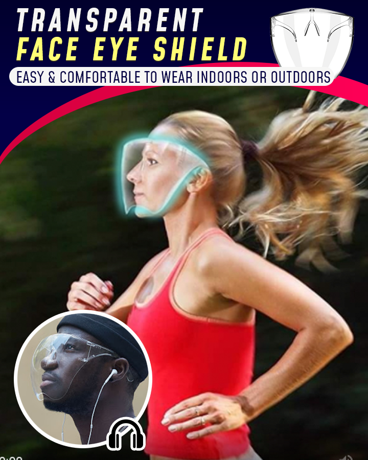Transparent Face Eye Shield