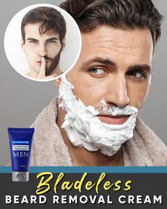 Bladeless Beard Removal Cream