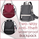 Load image into Gallery viewer, 2-Way Anti-Theft Waterproof Backpack