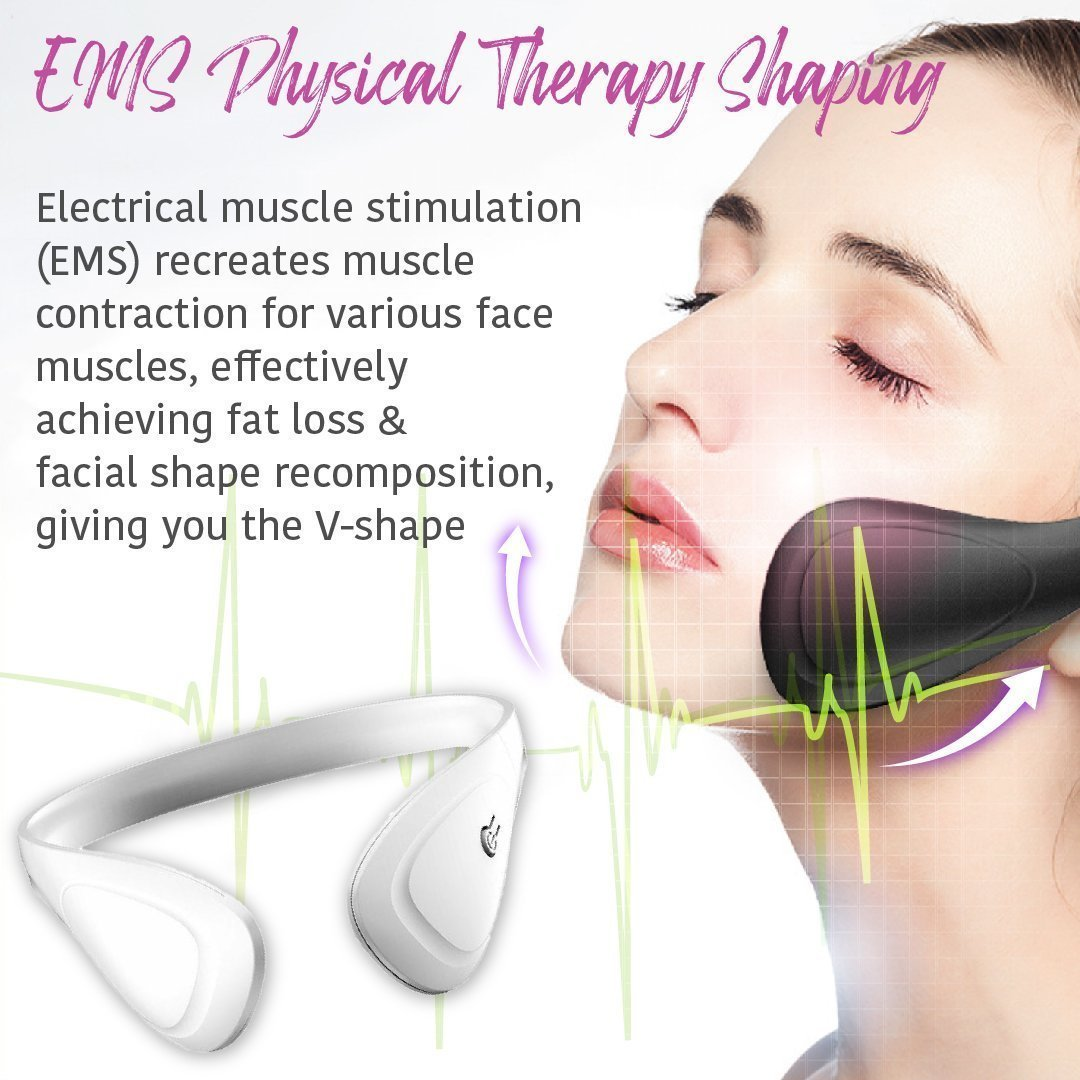 EMS Face Massager Mask