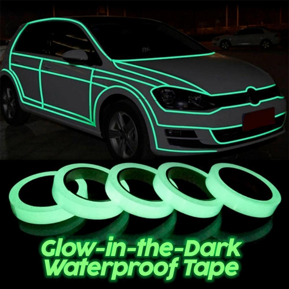 Glow-in-the-Dark Waterproof Tape