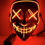 Load image into Gallery viewer, LED Halloween Mask