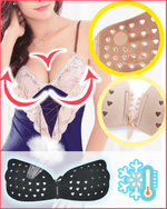 Load image into Gallery viewer, Front Zipper Breathable Perforated Invisible Bra