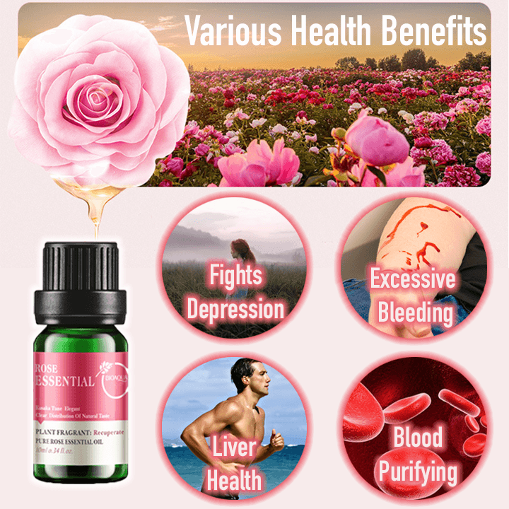 Fresh Rose Cholesterol Control Essential Oil