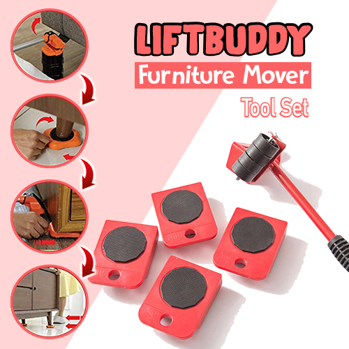 LiftBuddy™ Furniture Mover Tool Set (4 pcs)