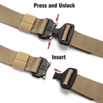 Load image into Gallery viewer, Adjustable Tactical Belt