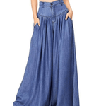 Load image into Gallery viewer, Super Wide-Leg Slimming Baggy Trousers