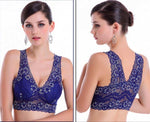 Load image into Gallery viewer, Extra Breathable Floral Lace Bra