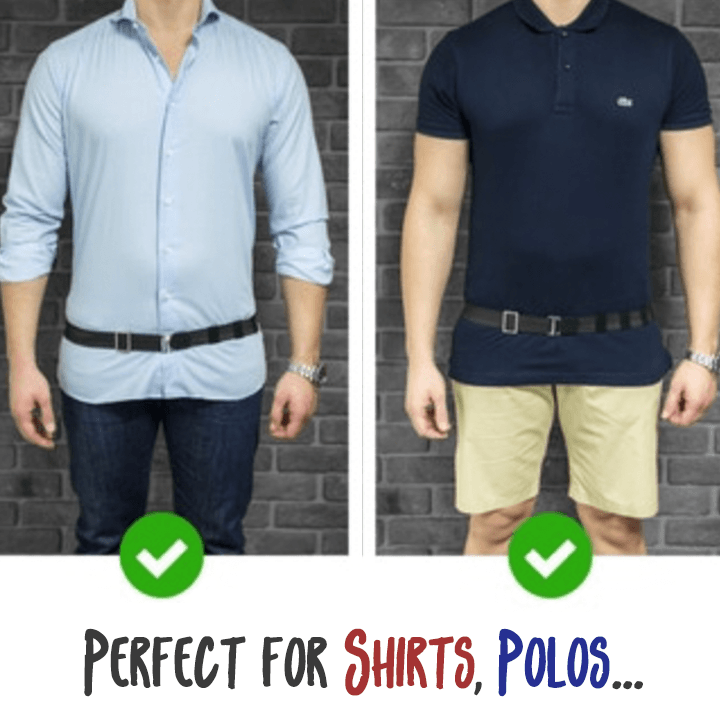 Perfect-Stay Shirt Tucker