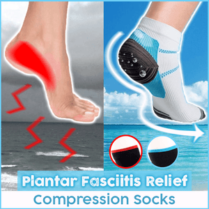 Plantar Fasciitis Relief Compression Socks (3 pairs)