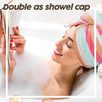Load image into Gallery viewer, Quick Dry Microfiber Hair Towel Wrap