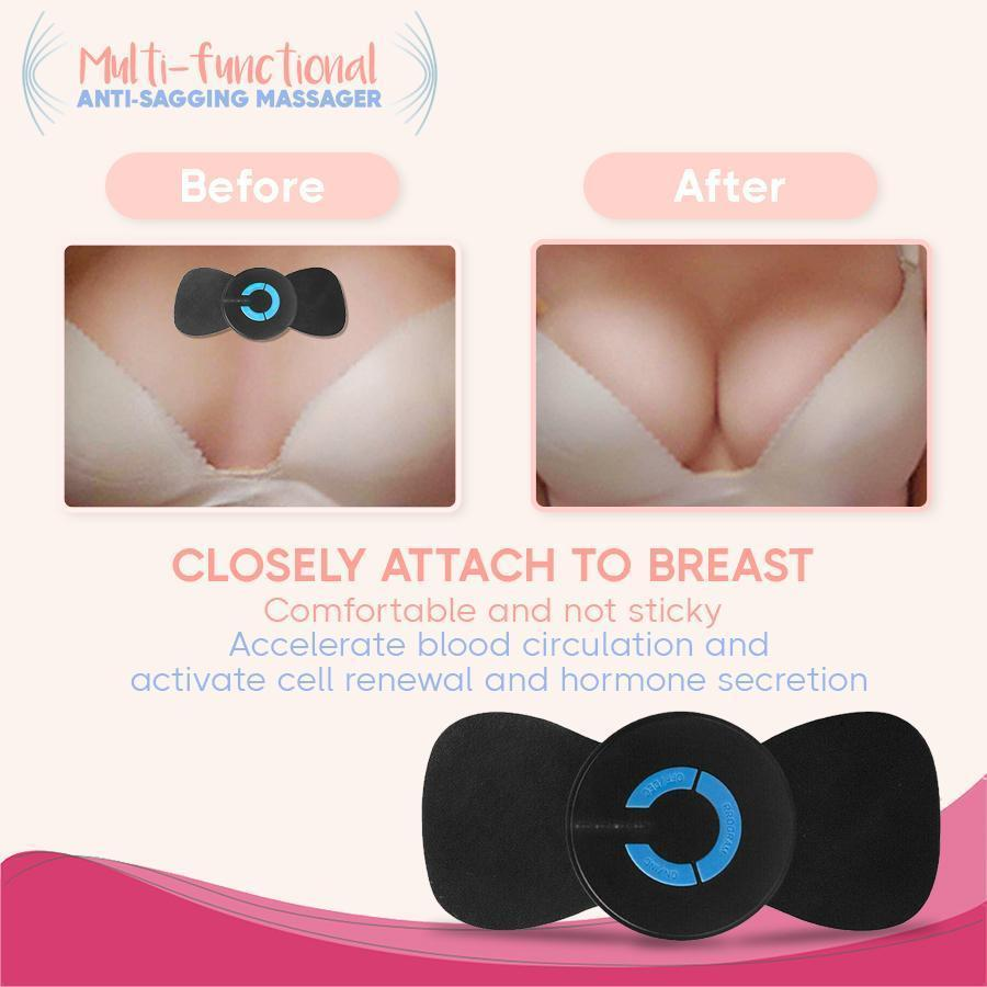 Sagging-Free EMS Breast Massage Lifter