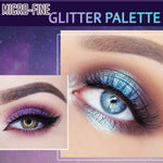 Load image into Gallery viewer, Micro-fine Glitter Eyeshadow Palettes