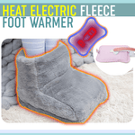 Load image into Gallery viewer, Heat Electric Fleece Foot Warmer
