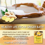 Load image into Gallery viewer, Skincare Ginger Bath Salts (3/ 5/ 10pcs)