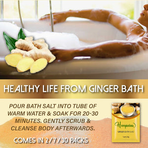 Skincare Ginger Bath Salts (3/ 5/ 10pcs)