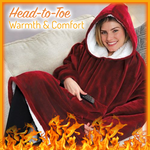 Load image into Gallery viewer, Reversible Oversized Warming Hoodie