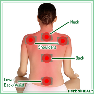 HerbalHeal™ Neck-to-Back Pain Relief Patches (12 pcs)