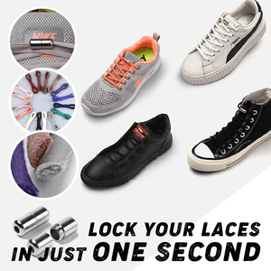 Easy-Clip No Tie Shoelaces