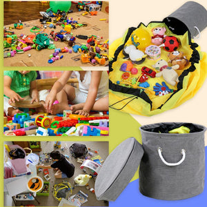 Play Mat Toy Storage Bag