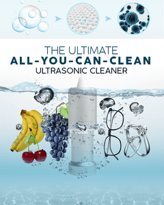 All-You-Can-Clean Ultrasonic Cleaner