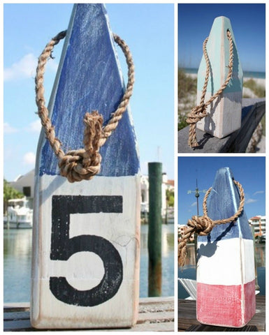 Nautical Wood Buoys