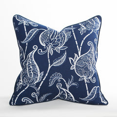 Capri Pillow / Indigo - Newport Collection