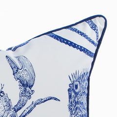 Lobster Pillow / Indigo - Newport Collection
