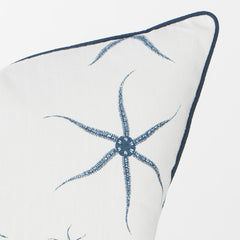 Brittle Sea Stars Pillow (Navy) - Newport Collection