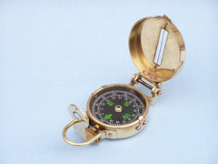 Solid Brass Military Compass 4