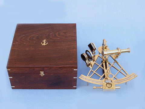 Admiral's Brass Sextant 12