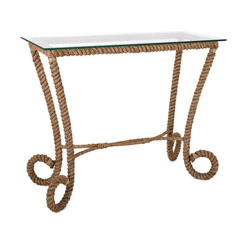 Tranquil Jute Console Table
